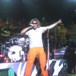 Sammy Hagar takes the stage